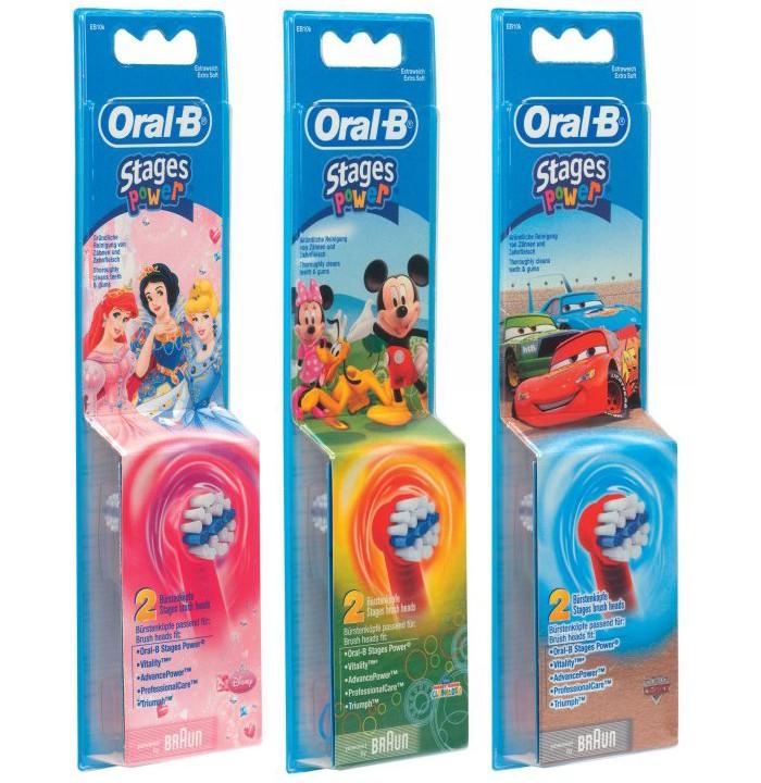Końcówki Do Szczoteczek Dla Dzieci Oral B Kids 2 Sztuki
